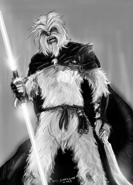 Sexy Wookie Sith by Sorephene on DeviantArt