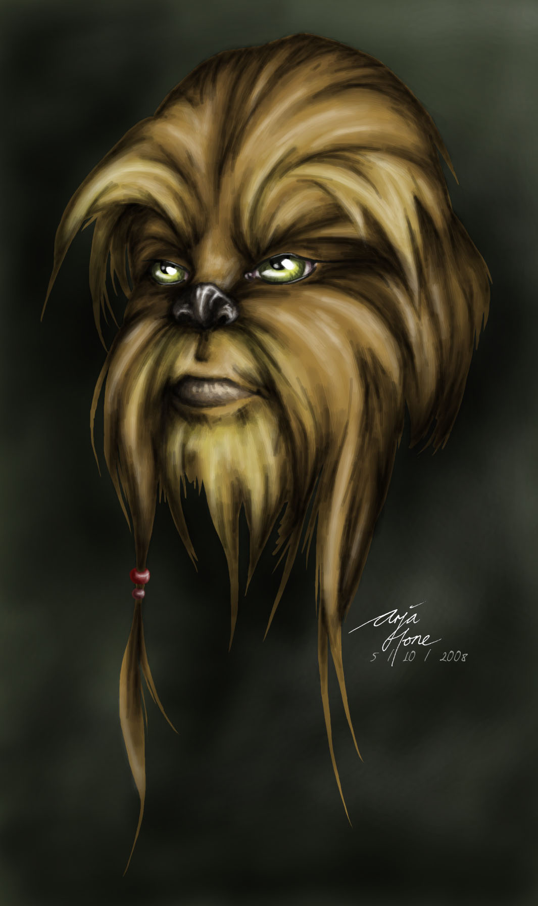 Awesome Wookiee Head