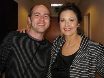 That's me with THE Lynda Carter